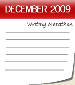 Calendar Writing Marathon