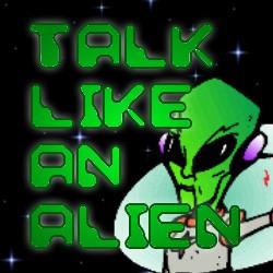 Talk Like an Alien at Apex Book Company