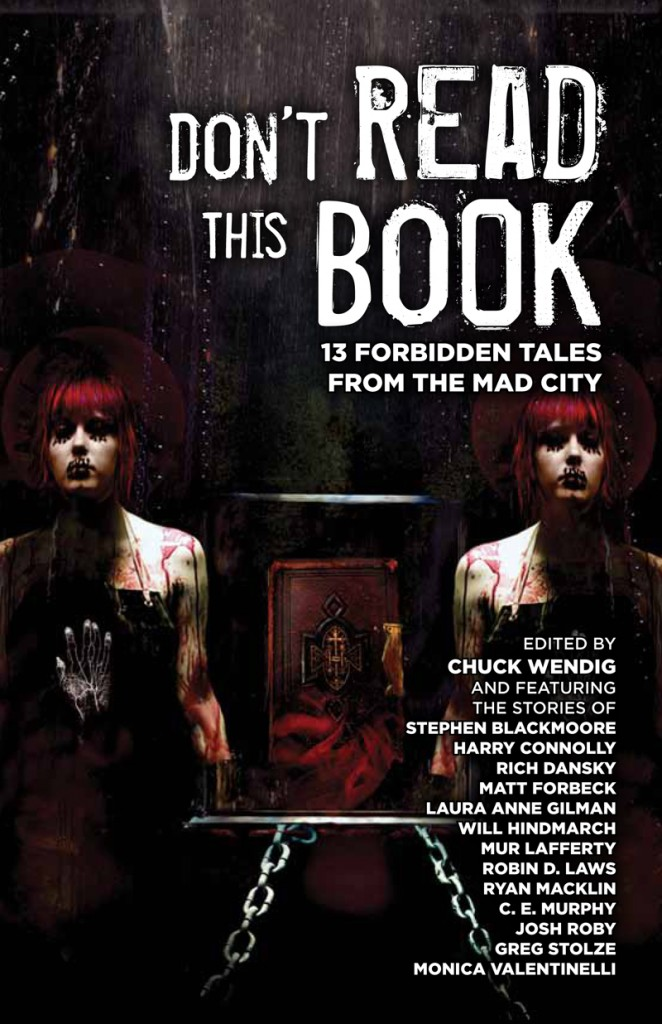 Don't Read This Book an anthology for Don't Rest Your Head