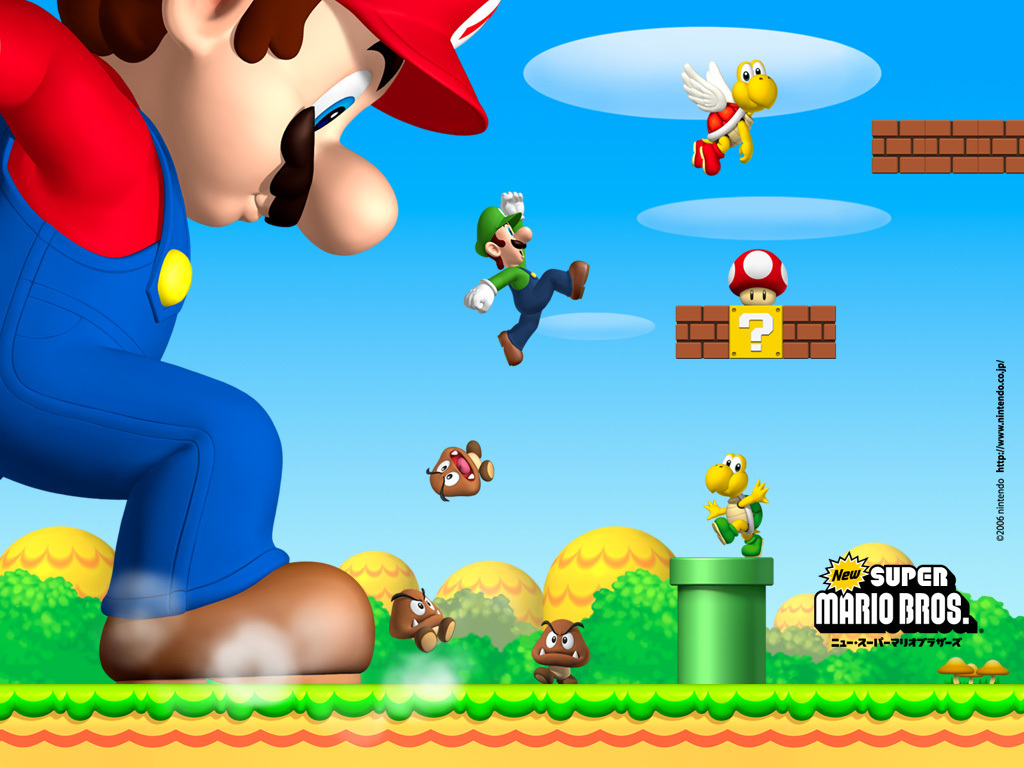 Mario Brothers Background Play Mario Brothers Games