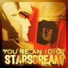 You're An Idiot, Starscream