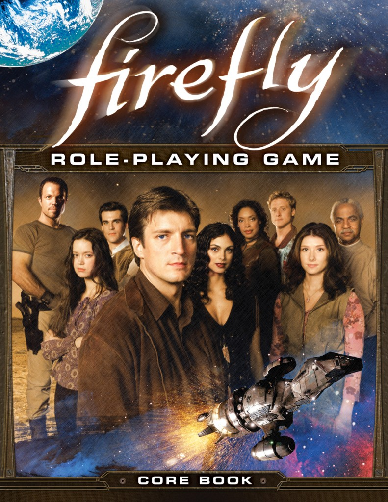 Firefly RPG Front Cover