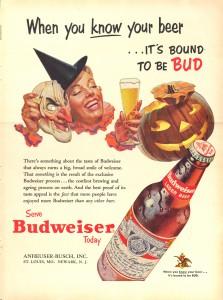 Budweiser Halloween Ad