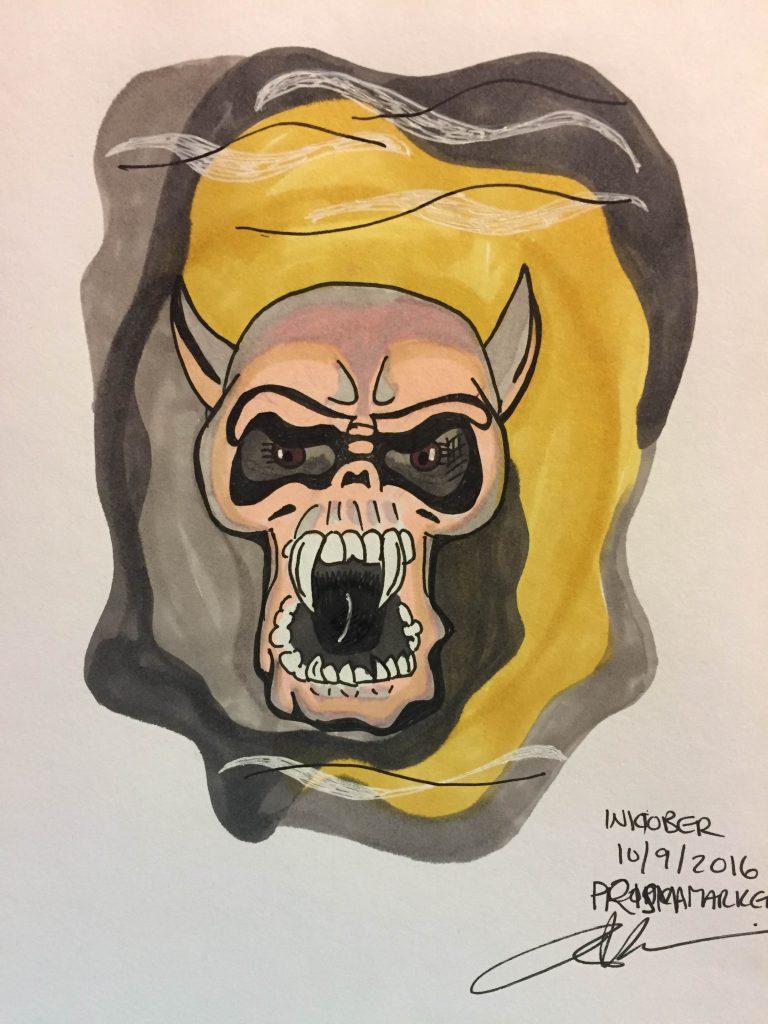 vampire-skull