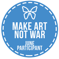 June Make Art Not War