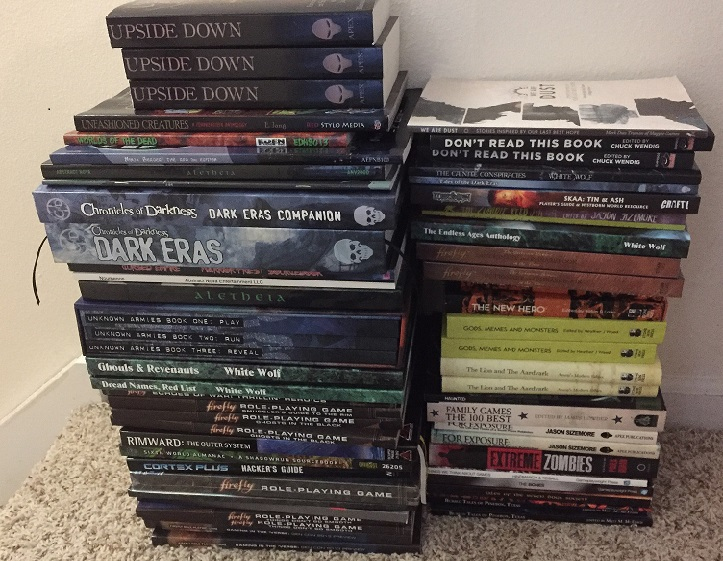 Some Books and Games by Monica Valentinelli